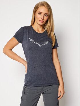 Salewa Salewa T-Shirt Solid Dry 27019 Dunkelblau Regular Fit