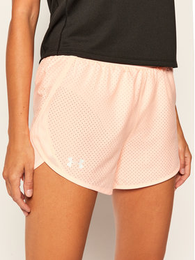Under Armour Under Armour Short de sport Ua Fly-By 2.0 Cire Perforated 1351116 Orange Loose Fit