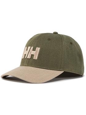 Helly Hansen Helly Hansen Kepurė su snapeliu Brand Cap 67300 Žalia