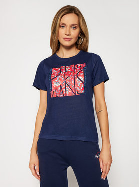 Pepe Jeans Pepe Jeans T-Shirt Brooklyn PL504824 Dunkelblau Regular Fit