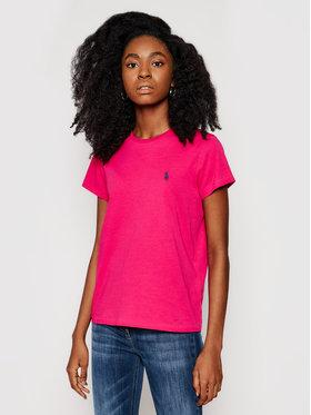 Polo Ralph Lauren Polo Ralph Lauren T-Shirt Ssl 211734144041 Różowy Regular Fit