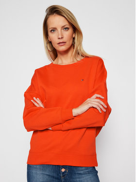 Tommy Hilfiger Tommy Hilfiger Sweatshirt Open-Nk WW0WW29380 Orange Oversize