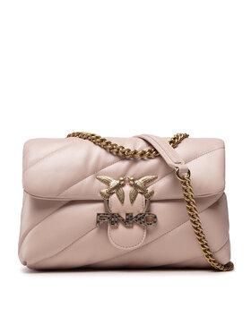Pinko Pinko Torebka Love Classic Puff Maxy Quilt Je 6 Cl AL 21-22 PLTT 1P22GP Y6Y3 Różowy