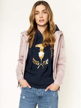 Trussardi Jeans Trussardi Jeans Giacca di transizione Memory 56S00423 Rosa Regular Fit