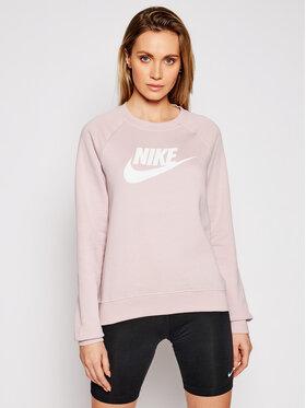 Nike Nike Bluza Essentials Crew BV4112 Różowy Standard Fit