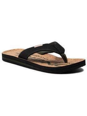O'Neill O'Neill Žabky Fm Chad Fabric Sandals 1A4508 Čierna