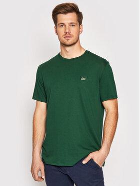 Lacoste Lacoste T-shirt TH6709 Verde Regular Fit
