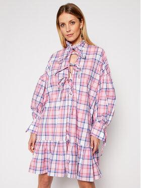 MSGM MSGM Každodenné šaty 3041MDA19A 217005 Ružová Regular Fit