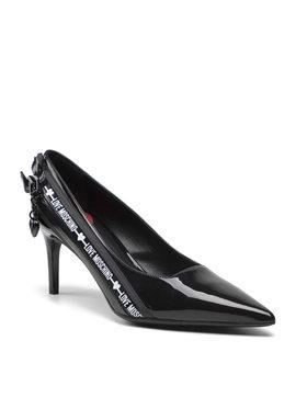 LOVE MOSCHINO LOVE MOSCHINO Pantofi cu toc subțire JA10107G1DIH0000 Negru