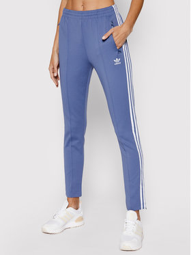 adidas adidas Sportinės kelnės Primeblue Sst Track GN2942 Mėlyna Slim Fit