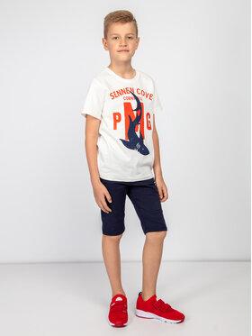 Primigi Primigi Tričko Jersey 43222024 Biela Regular Fit