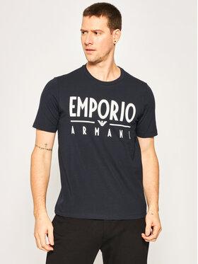 Emporio Armani Emporio Armani T-Shirt 3H1T90 1J0AZ 0922 Granatowy Regular Fit