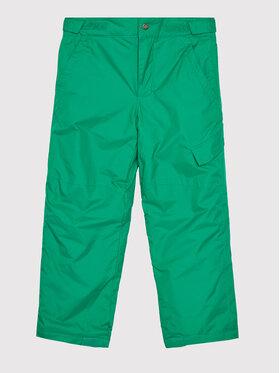 Columbia Columbia Lyžařské kalhoty Ice Slope 1523671 Zelená Regular Fit