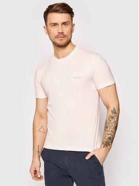 Calvin Klein Calvin Klein T-shirt Chest Logo K10K103307 Ružičasta Regular Fit
