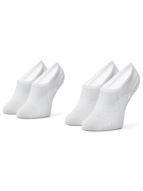 TOMMY HILFIGER TOMMY HILFIGER Sada 2 párů dámských nízkých ponožek 383024001 Bílá
