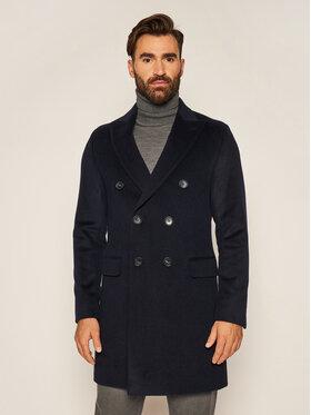 Oscar Jacobson Oscar Jacobson Prechodný kabát Sebastian 7128 9049 Tmavomodrá Regular Fit