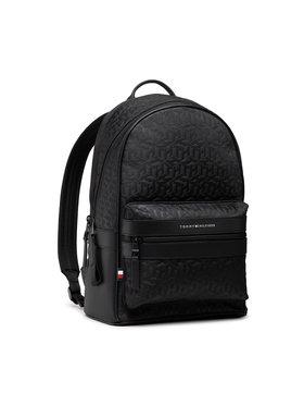 Tommy Hilfiger Tommy Hilfiger Hátizsák Elevated Nylon Backpack Mono AM0AM07096 Fekete