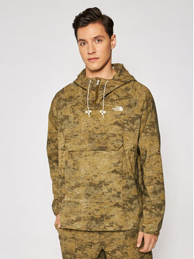 The North Face The North Face Анорак Printed Class V Po NF0A55T702D1 Зелен Regular Fit