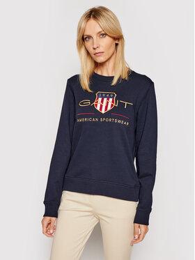 Gant Gant Sweatshirt Archive Shield 4204688 Dunkelblau Regular Fit