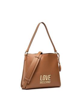 LOVE MOSCHINO LOVE MOSCHINO Дамска чанта JC4191PP1DLJ020A Кафяв