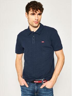 Levi's® Levi's® Тениска с яка и копчета Housemark 22401-0003 Тъмносин Regular Fit