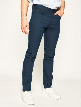 Boss Boss Spodnie materiałowe Delaware3-1-20 50426142 Granatowy Slim Fit