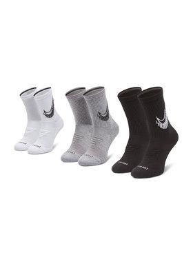 Nike Nike Zestaw 3 par wysokich skarpet unisex CN0789 Czarny
