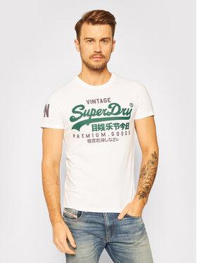 Superdry Superdry T-shirt Vl Ns M1010411A Blanc Regular Fit