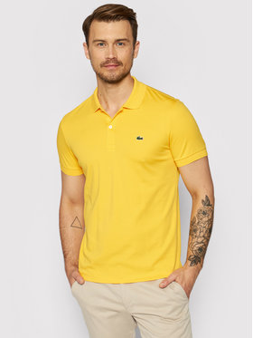 Lacoste Lacoste Polohemd DH2050 Gelb Regular Fit