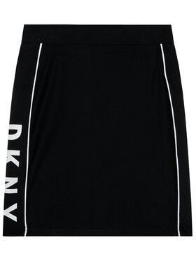 DKNY DKNY Пола D33572 S Черен Slim Fit