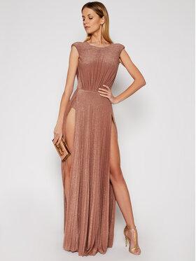 Elisabetta Franchi Elisabetta Franchi Sukienka wieczorowa AB-052-11E2-V560 Różowy Loose Fit