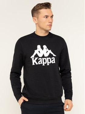 Kappa Kappa Felpa Sertum 703797 Nero Regular Fit