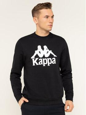 Kappa Kappa Суитшърт Sertum 703797 Черен Regular Fit