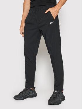 Reebok Reebok Spodnie dresowe Workout Ready FJ4060 Czarny Slim Fit