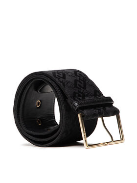 Liu Jo Liu Jo Дамски колан Cintura Bustino 8 AF1233 T6438 Черен