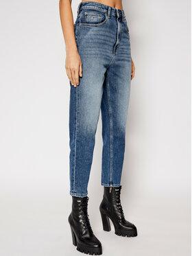 Tommy Jeans Tommy Jeans Blugi Mom Fit DW0DW09012 Albastru Mom Fit
