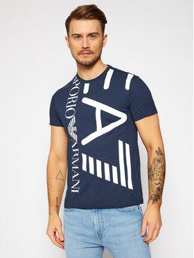 EA7 Emporio Armani EA7 Emporio Armani T-shirt 3KPT07 PJA2Z 1554 Bleu marine Regular Fit