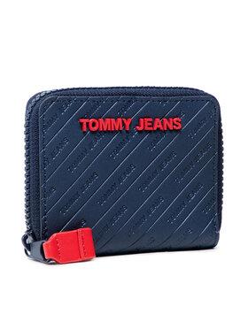 Tommy Jeans Tommy Jeans Mały Portfel Damski Tjw Pu Small Za AW0AW10685 Granatowy