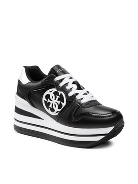 Guess Guess Sneakersy Hektor FL7HEK ELE12 Czarny