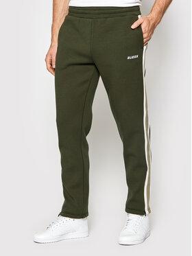 Guess Guess Pantalon jogging U1BA27 FL046 Vert Regular Fit