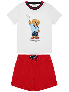 Polo Ralph Lauren Polo Ralph Lauren Komplet T-Shirt i szorty sportowe Short Set 320787331001 Kolorowy Regular Fit
