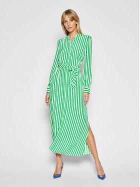 Tommy Hilfiger Tommy Hilfiger Košeľové šaty Cdc WW0WW30356 Zelená Regular Fit