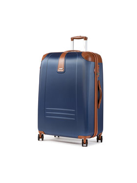 Dielle Dielle Nagy kemény borítású bőrönd 155/70 Sötétkék