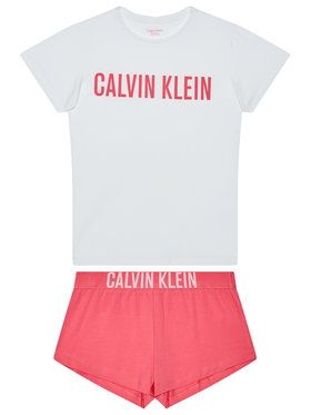 Calvin Klein Underwear Calvin Klein Underwear Piżama G80G800167 Biały Regular Fit