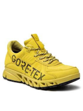 ECCO ECCO Trekkingi Multi-Vent W GORE-TEX 88025302285 Żółty