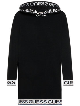 Guess Guess Každodenné šaty J1YK07 Z2NQ0 Čierna Regular Fit