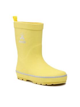 Kamik Kamik Kalosze Splashed 2 EK6785 Żółty