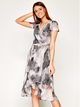 DKNY DKNY Sukienka codzienna DD0BM154 Szary Regular Fit