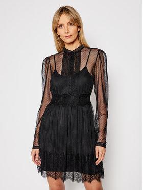 TwinSet TwinSet Sukienka koktajlowa 202TP2201 Czarny Regular Fit