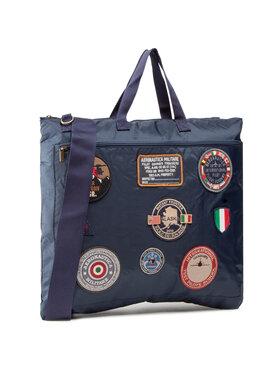 Aeronautica Militare Aeronautica Militare Geantă Portacasco 211BO987CT2412 Bleumarin